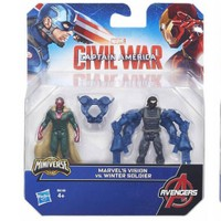 Avengers Captan America Film 2'Li Figür Set B5768
