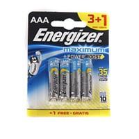 Energizer (B12-7237) Maximum Alkalin Aaa Kalem Pil 3+1Li Blister