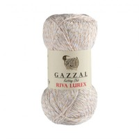Gazzal Riva Lurex Beyaz El Örgü İpi - 2013