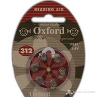 Oxford PR41 6'lı Kulaklık Pili No:312