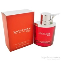 Yacht Man Red Edt For Men 100 Ml