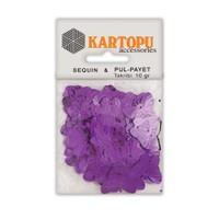 Kartopu Mor Kelebek Figürlü Figürel Pul Payet - Pp5
