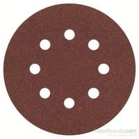 Bosch - Eksantirik Zımpara Kağıdı 5'Li, 125 Mm 120 Kum 8 Delik