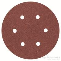 Bosch - Eksantirik Zımpara Kağıdı 5'Li, 150 Mm 120 Kum 6 Delik