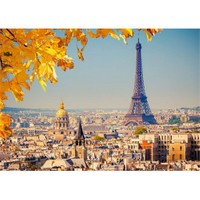 Castorland 103089 - Paris'te Sonbahar Puzzle (1000 Parça)
