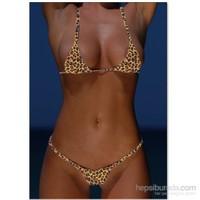 Terry Pau Tp100927 Leopar Mikro Bikini Takım