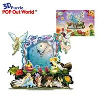 Scholas 3 Boyutlu Puzzle Maket Fairy Tale Clock