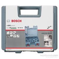 Bosch - Best Serisi Seramik İçin Dry Speed 3 Parçalı Elmas Kuru Delme Ucu Seti - 14,0: 25,0: 35,0 Mm