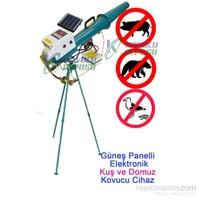 Güneş Enerjili Elektronik Kuş Ve Domuz Kovucu Cihaz (3 Ayaklı)