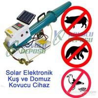 Güneş Enerjili Elektronik Kuş Ve Domuz Kovucu Cihaz