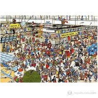 Jumbo 2000 Parça Puzzle Departure Hall