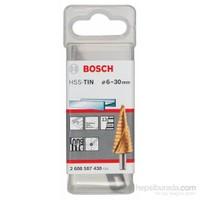 Bosch - Kademeli Matkap Ucu Hss-Tin - 6 - 30 Mm, 10,0 Mm, 93,5 Mm