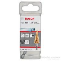 Bosch - Kademeli Matkap Ucu Hss-Tin - 4 - 20 Mm, 70,5 Mm