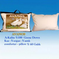 Avanos Kaz Gold Yastık (%60 Gıdık Tüyü)