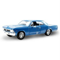 Maisto Chevrolet Chevelle Ss 396 1966 1:24 Model Araba S/E Mavi