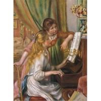 Perre Puzzle Piyano Çalan Kız (1000 Parça)