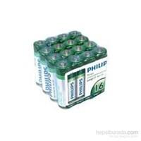 Philips R03L16F/97 AAA 16 lı İnce Kalem Pil