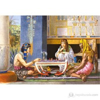 Castorland 1000 Parça Copy Of Egyptian Chess Players Sir Lawrence Alma Tadema