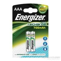 Energizer (E21-59964) Şarjlı 700 Mah AAA İnce Kalem Pil 2Li Blister