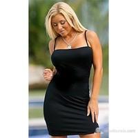 Terry Pau Tsec031039 Esnek Askılı Mini Elbise & Kombinezon