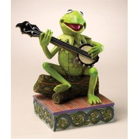 Kermit The Frog Figurine - Find Your Rainbow Connection