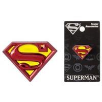 Superman Renkli Logo Pin