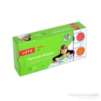 Lets Parmak Boyası 25Mg. 12 Renk L-5512