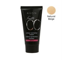 Avon Ideal Flawless Cc Krem Fondöten Spf50 Natural Biege