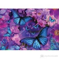 Ks Games Kelebekler Puzzle 1000 Parça Violet