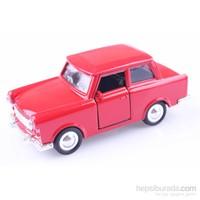 Diecast Trabbi Trabant 1/30 Çek Bırak Die Cast Model Araç