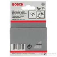 Bosch - İnce Zımba Teli Tip 53 - 11,4 X 0,74 X 18 Mm