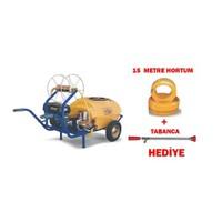 Kaan T100-B 100 Lt. Polietilen Depo Benzinli İlaçlama Makinesi + 15 Metre Hortum / Tabanca Dahil