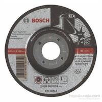 Bosch - Expert Serisi Inox (Paslanmaz Çelik)İçin Bombeli Taşlama Diski (Taş) - As 30 S Inox Bf, 115 Mm, 6,0 Mm