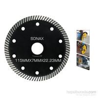 Sonax Dimaond Turbo Delikli Elmas Testere 115 mm 090328