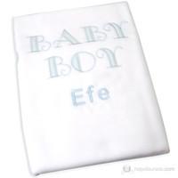Funna Baby İsme Özel Baby Boy Polar Battaniye