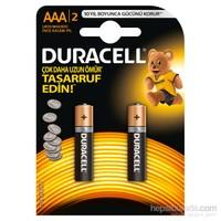 Duracell Alkalin AAA İnce Kalem Pil 2'li Paket