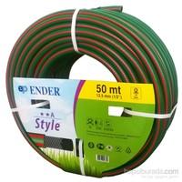 Style Örgülü Hortum 1/2 Yeşil 50Mt