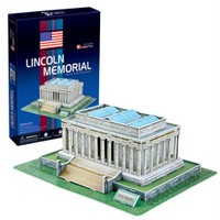 Cubic Fun Lincoln Memorial (3D Puzzle)