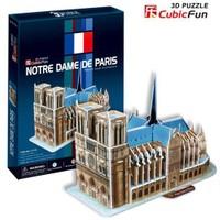 Cubic Fun Notre Dame de Paris (3D Puzzle)
