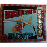 Professor Puzzle Construction Kit And Paint Set - Helikopter