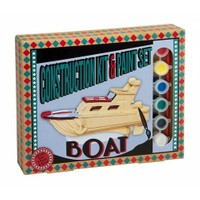 Professor Puzzle Construction Kit And Paint Set - Boat