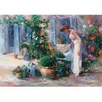Art Puzzle Bahçedeki Kadın 3 (1500 Parça)