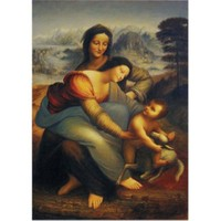 Art Puzzle Meryem, İsa ve Azize (1500 Parça)