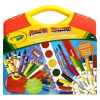 Crayola Süper Sanat Seti Sarı Kutu