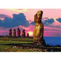 Dino Puzzle Easter Islands (1000 Parça)