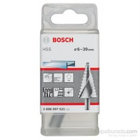 Bosch - Kademeli Matkap Ucu Hss - 6 - 39 Mm, 10,0 Mm, 93,5 Mm