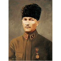 Art Puzzle Başkomutan Mareşal Gazi Mustafa Kemal (500 Parça)