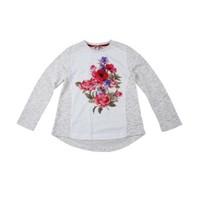Zeyland Kız Çocuk Ekru T-Shirt K-51Z584hzr61