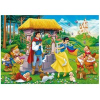 Clementoni Puzzle Snow White Wishing Well (104 Parça)