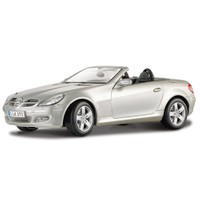 Maisto Mercedes Benz Slk Convertible Diecast Model Araba 1:18 Special Edition Gri